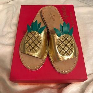Kate spade pineapple sandals